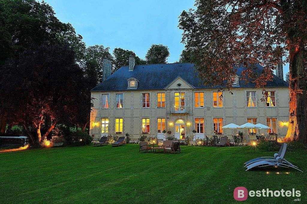 Роскошный отель замок во Франции - Château de Bellefontaine