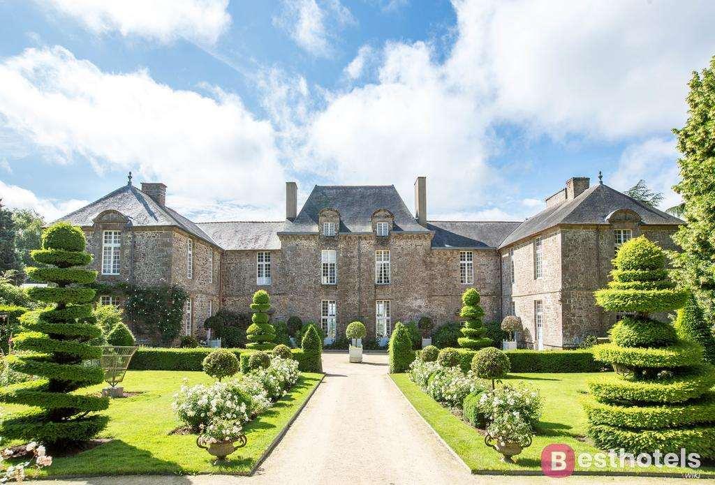 Château de La Ballue - один из роскошных замков гостиниц во Франции