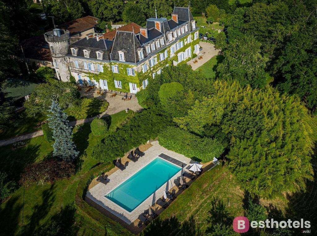Отель замок во Франции - Château de Lalande