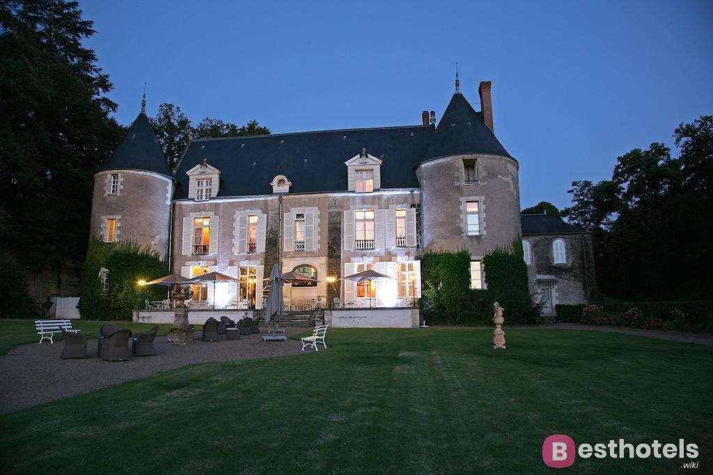 Лучшие отели замки во Франции - Chateau de Pray