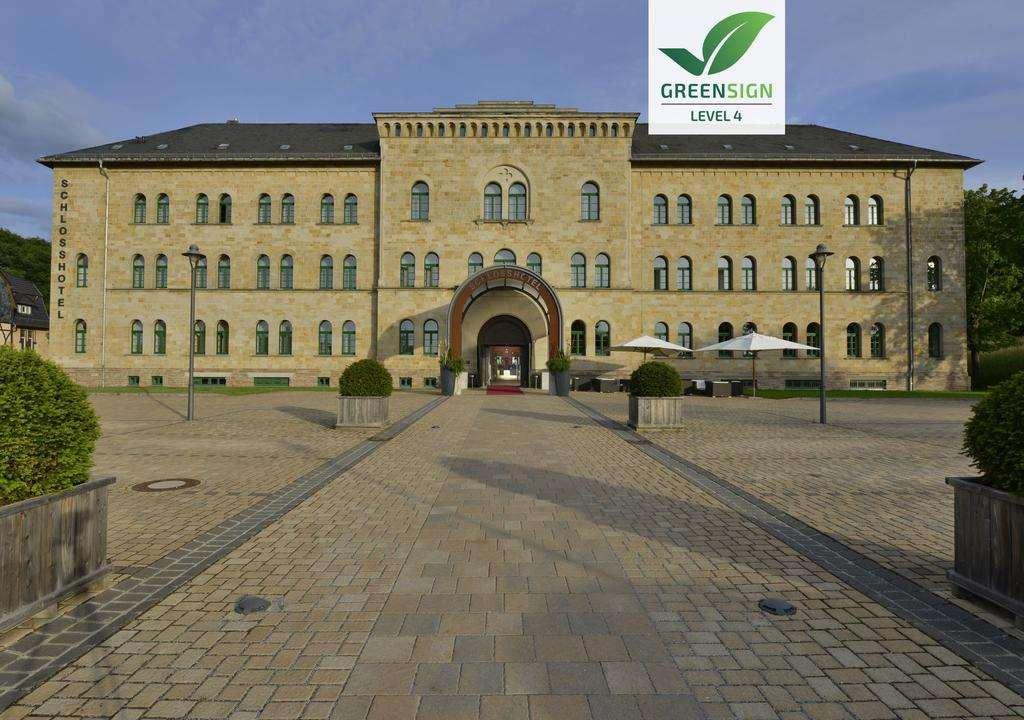 Schlosshotel Blankenburg - одна из лучших гостиниц замков в Германии
