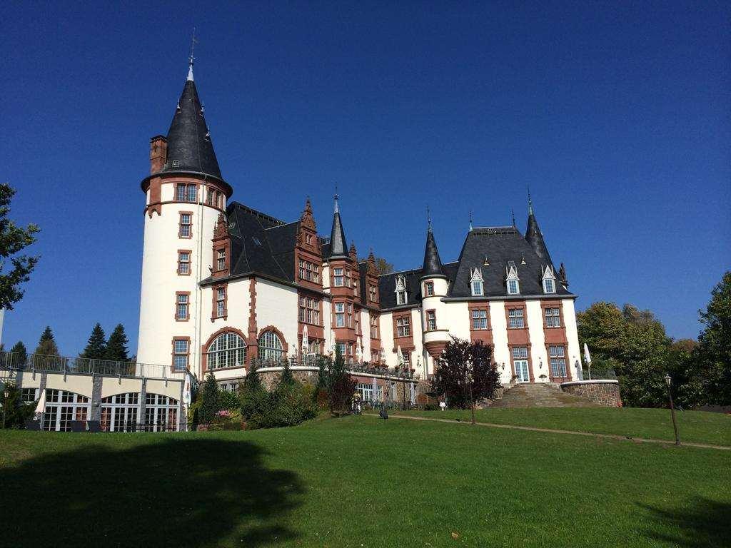 Гостиница замок в Германии - Schloss Klink