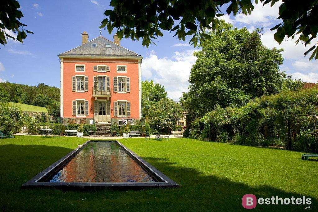 Роскошный отель дворец во Франции - Château de Courban