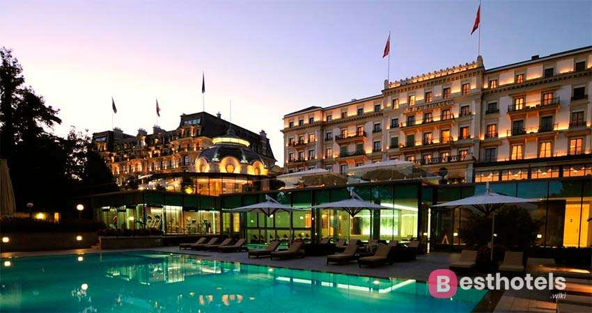 Elite Locations in the World - Beau-Rivage Palace