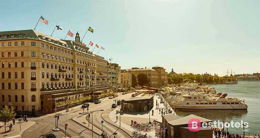 Grand Hotel Stockholm is one of the elite hotels in the world