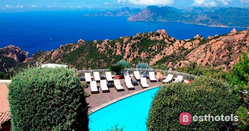 Hôtel Capo Rosso - одно из лучших мест на Корсике