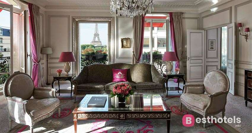 Plaza Athénée is one of the best hotels in the world