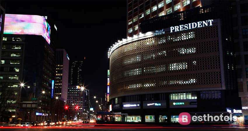President hotel - одно из лучших мест в Сеуле