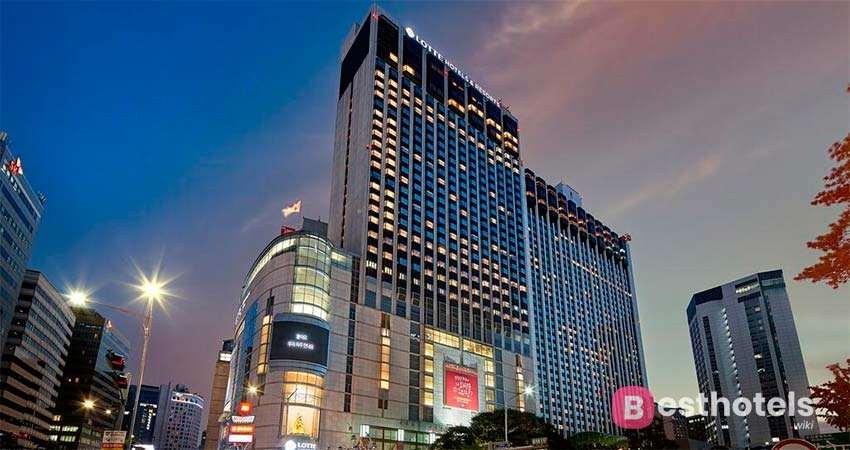 Лучшие места Сеула - Lotte Hotel