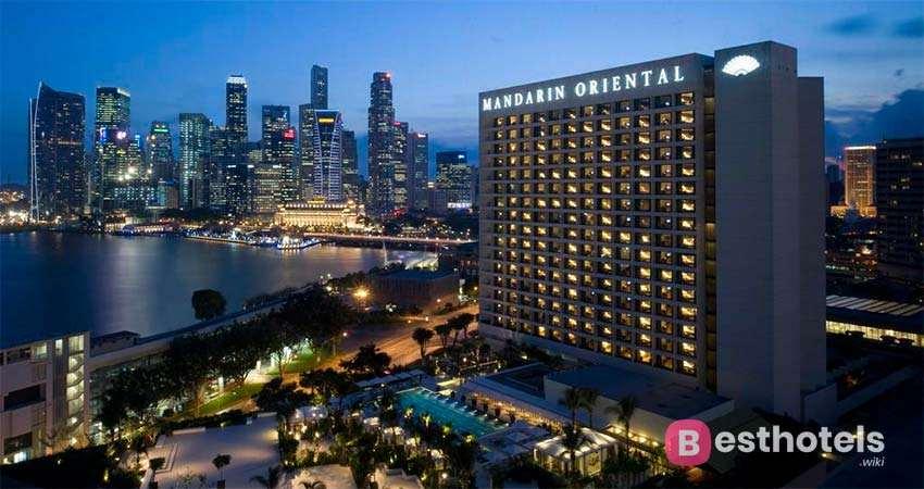 Лучшие гостиницы в Сингапуре - Mandarin Oriental, Singapore