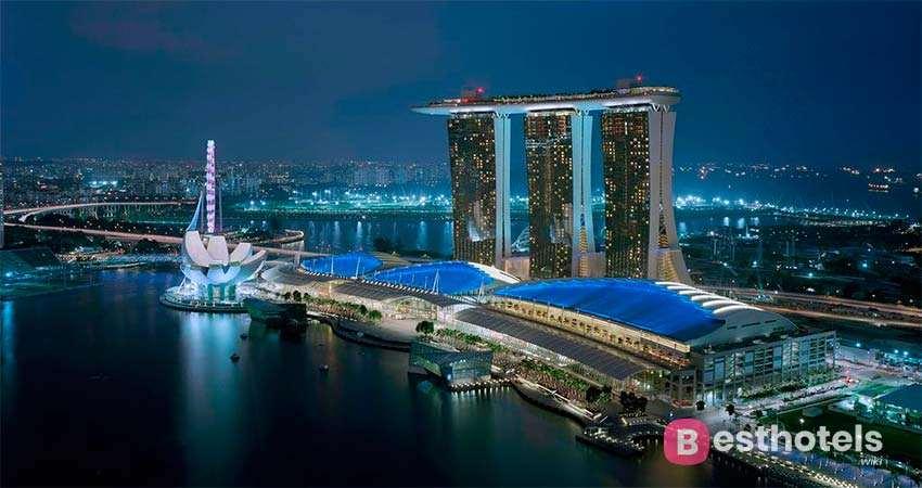 Роскошные отели в Сингапуре -Marina Bay Sands