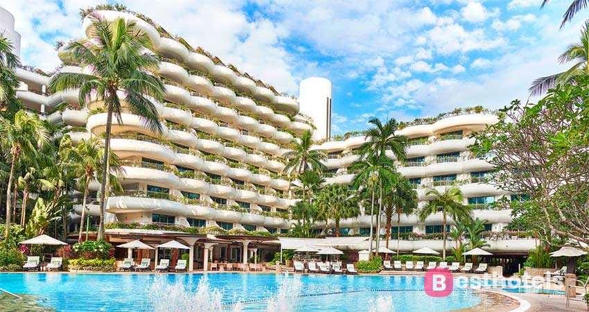 Shangri-La Hotel Singapore - одна из лучших гостиниц в Сингапуре