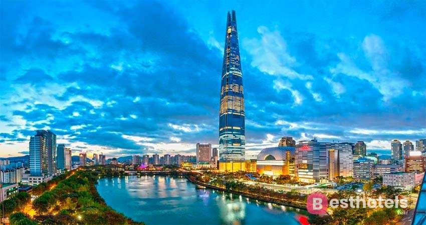 Signiel Seoul - один из роскошных отелей в Сеуле