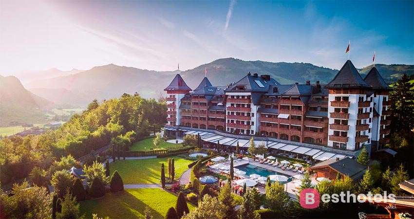 World's Best Hotels - The Alpina Gstaad