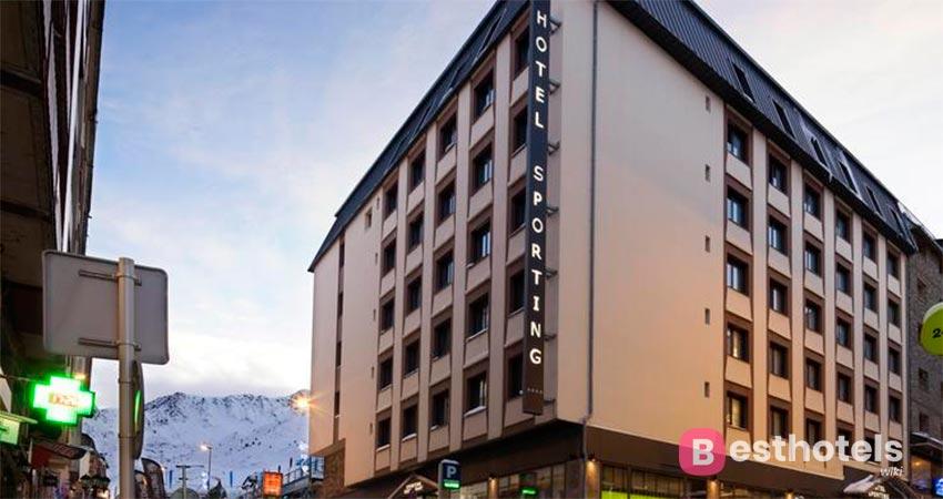 оптимальный гостиничный комплекс в Андорре - Sporting Pas de la Casa