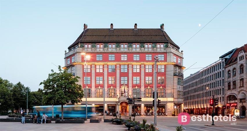 элитный отель в Осло - Amerikalinjen