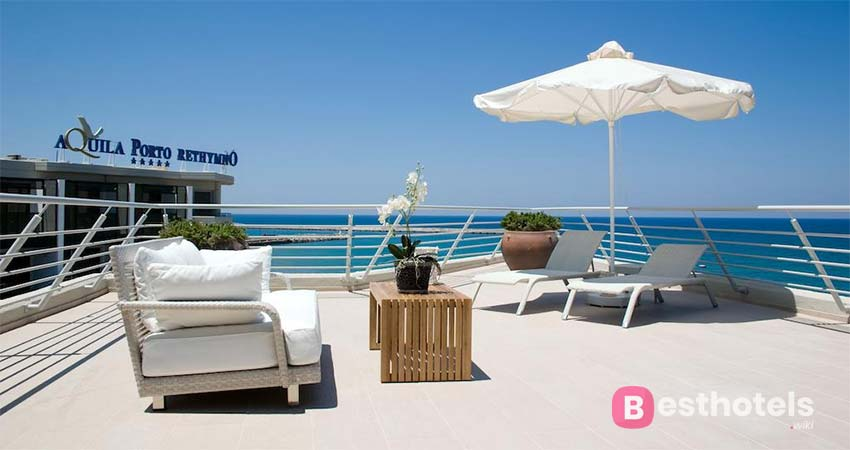 Aquila Porto Rethymno - family holiday hotels in Crete