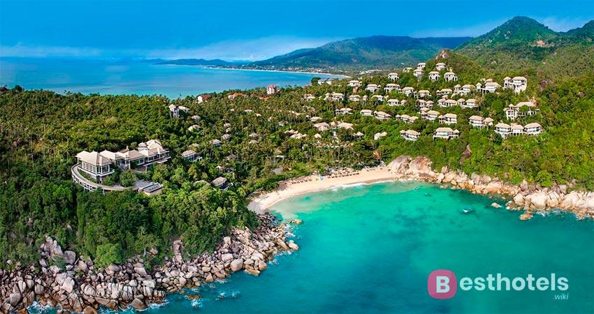 отель с собственным пляжем на Самуи - Banyan Tree