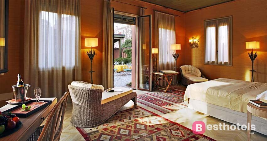 Одна из самых старых гостинец венеции - Bauer Palladio Hotel & Spa