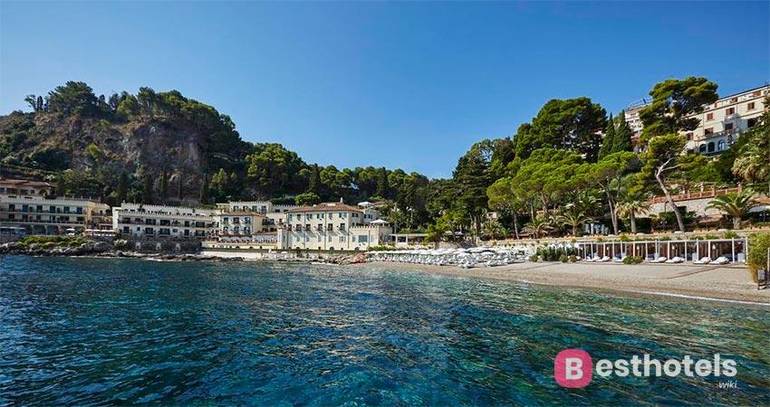 первосортный гостиничный комплекс Сицилии со своим пляжем - Belmond