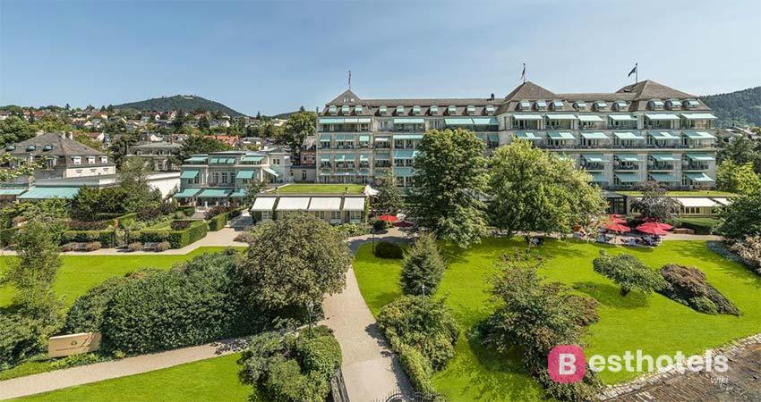 Идеальное место отдыха в Баден-Бадене с термальным бассейном - Brenners Park