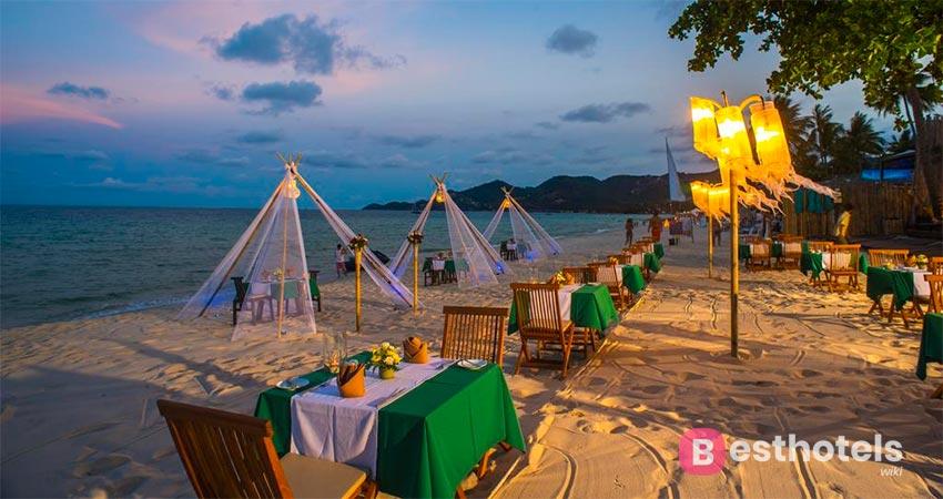 курорт на первой линии моря Самуи - Buri Rasa Village