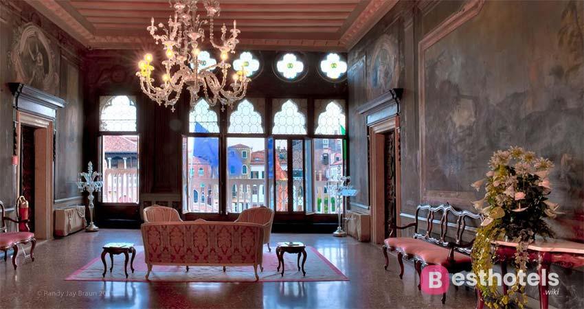 дизайнерская гостиница в самом сердце Венеции - Ca'Sagredo Hotel