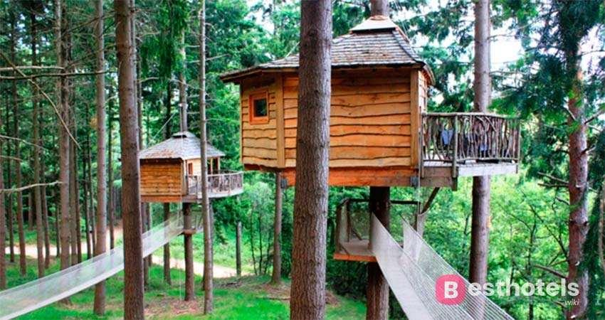 Cabanes als arbres - оригинальная гостиница