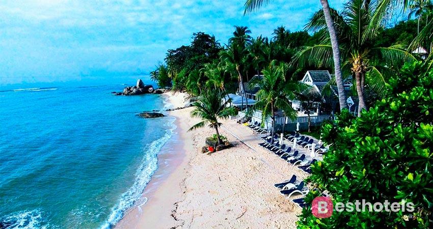 отель на первой линии моря Самуи - Centara Villas
