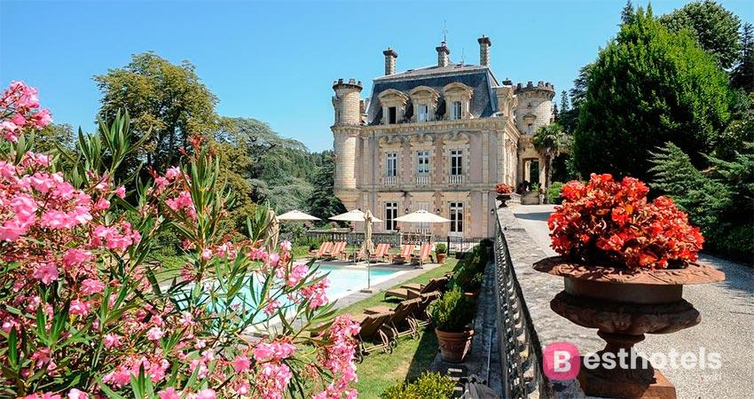 замковый отель во Франции - Clément