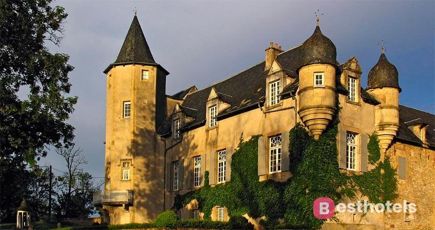 замковый отель во Франции -Château de Labro