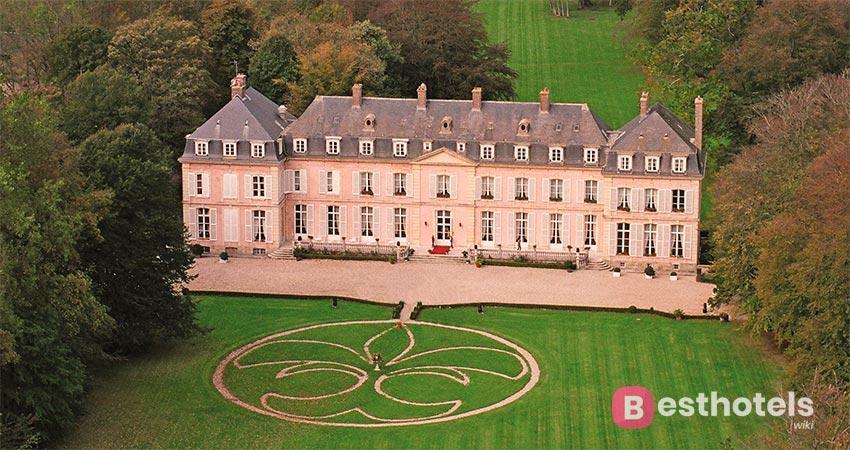 замковый отель во Франции -Château de Sissi
