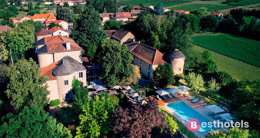 Элегантный замок отель во Франции - D'igé