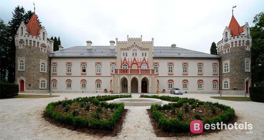 Herálec - один из отелей замков в Чешской республике