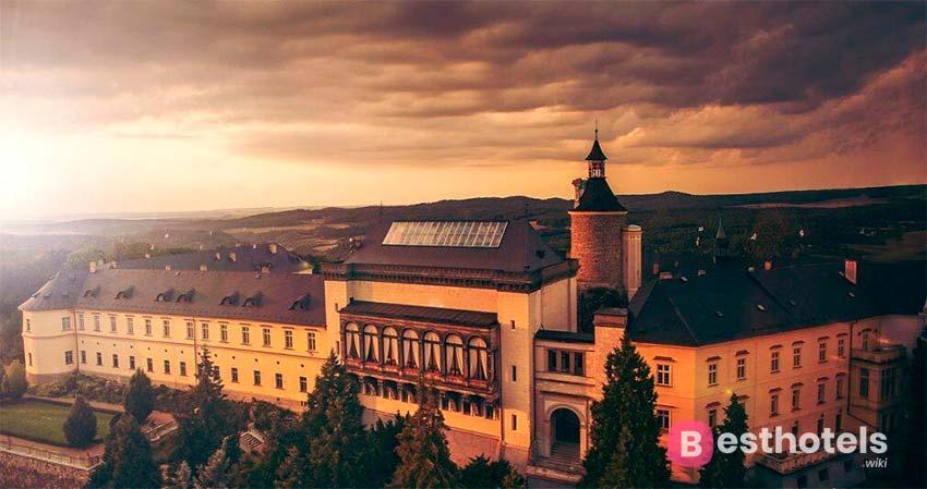 Zbiroh - одна из гостиниц замков в Чешской республике