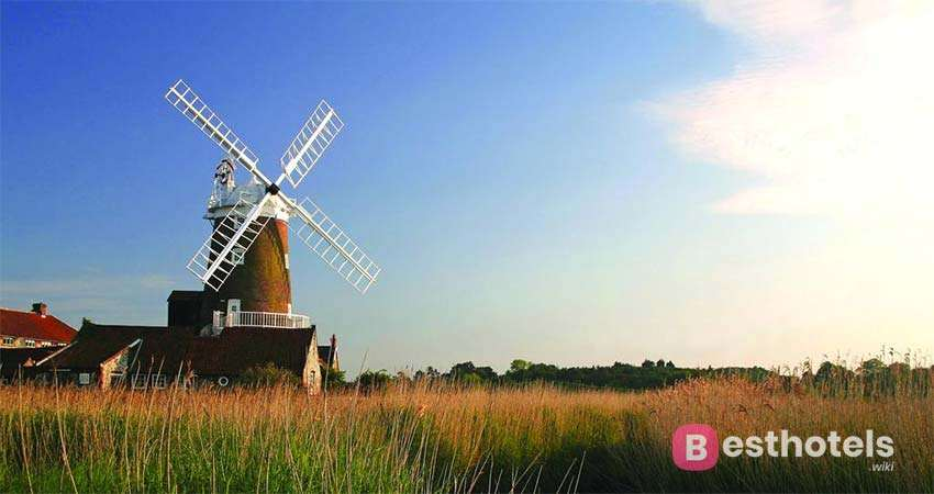 uncommon hotel in UK Cley Windmill
