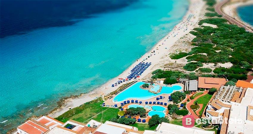 resort complex on the Sardinian coast - Capo Testa