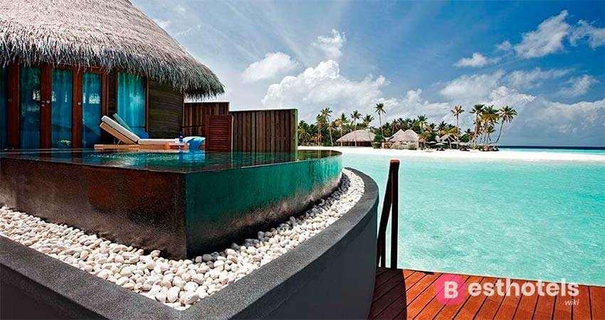Идеальная гостиница на Мальдивах - Constance Halaveli