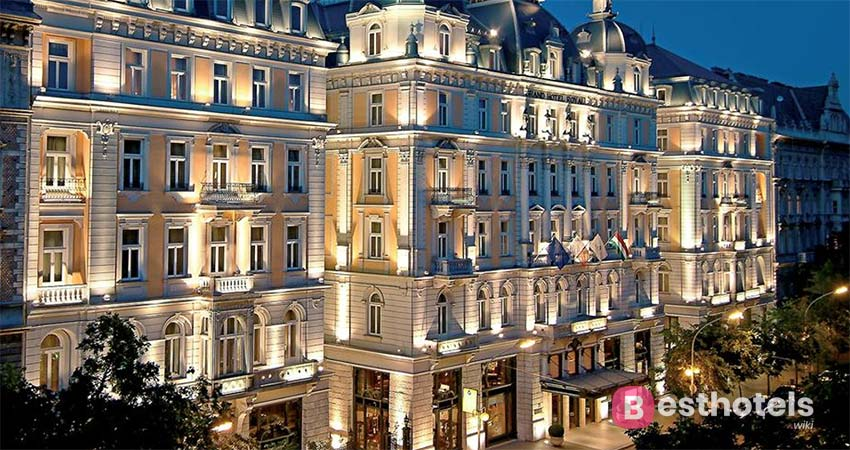 preferred location in Budapest - Corinthia, with thermal springs