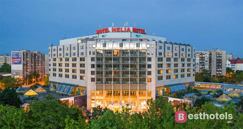 exemplary wellness hotel in Budapest - Helia, with thermal springs