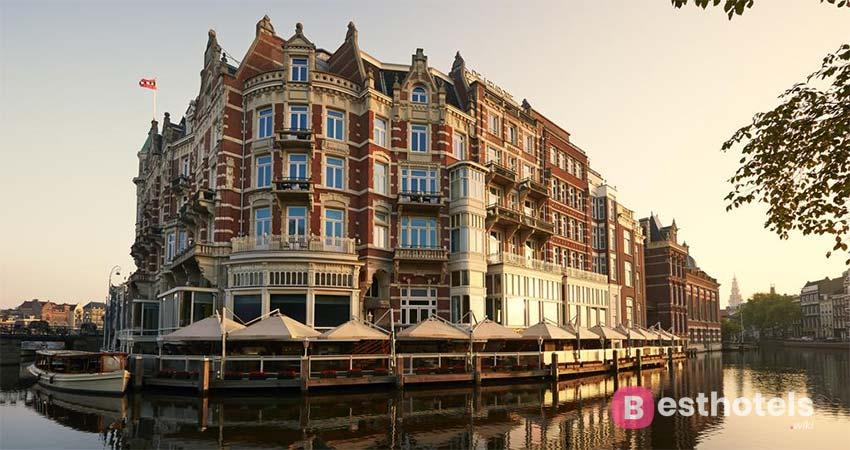 Самый живописный комплекс Амстердама - De L'Europe