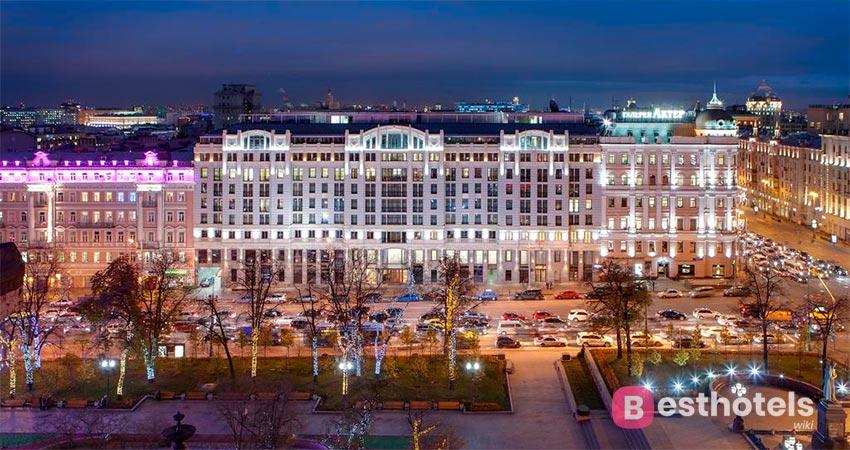 люксовый гостиничный комплекс в Москве - Дизайн Отель СтандАрт