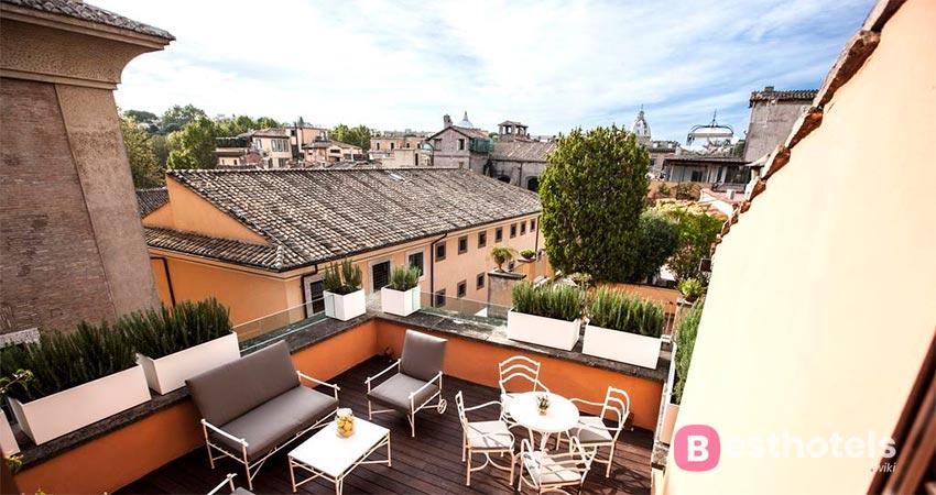 элегантный отель-бутик в Риме - DOM