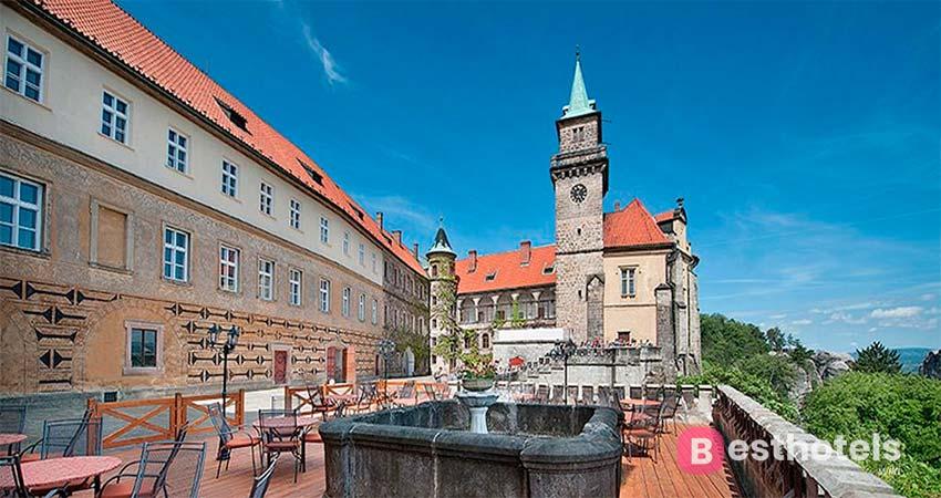 Гостиницы замки в Чехии - Hruba Skala