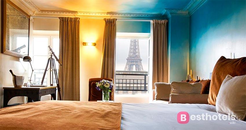 показательная гостиница в Париже - Eiffel Trocadéro