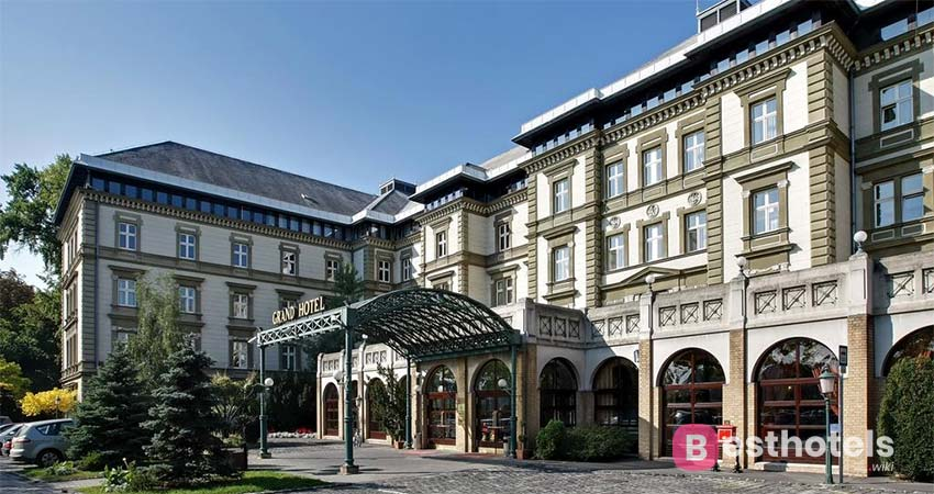 impeccable wellness facility in Budapest - Ensana Grand Margaret Island, with thermal springs