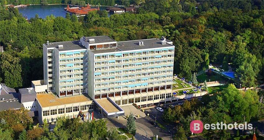 Превосходнейший лечебный курорт в Хевизе - Ensana Thermal Heviz