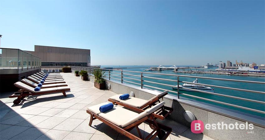 Favorite beachfront location in Barcelona - Eurostars Grand Marina Hotel GL