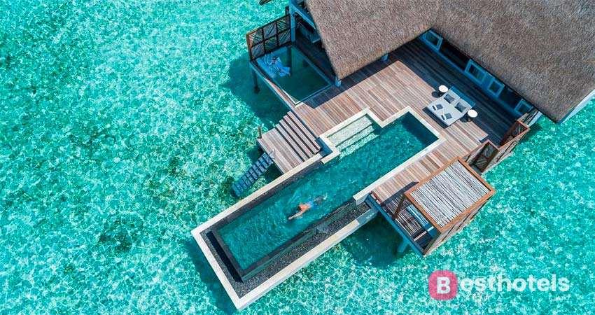 Four Seasons at Landaa Giraavaru  - совершенный отель на Мальдивах