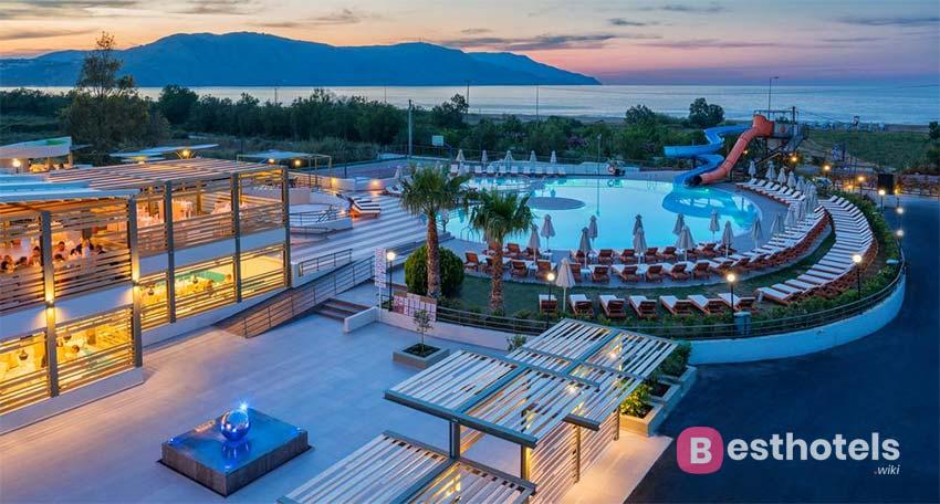 Georgioupolis Resort & Aqua Park - family holiday hotels in Crete